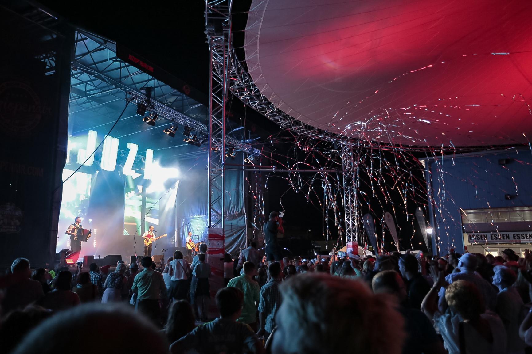 Riesenshow beim JUZIopenair 2018, Die jungen Zillertaler. (C) www.weiss-pr.at