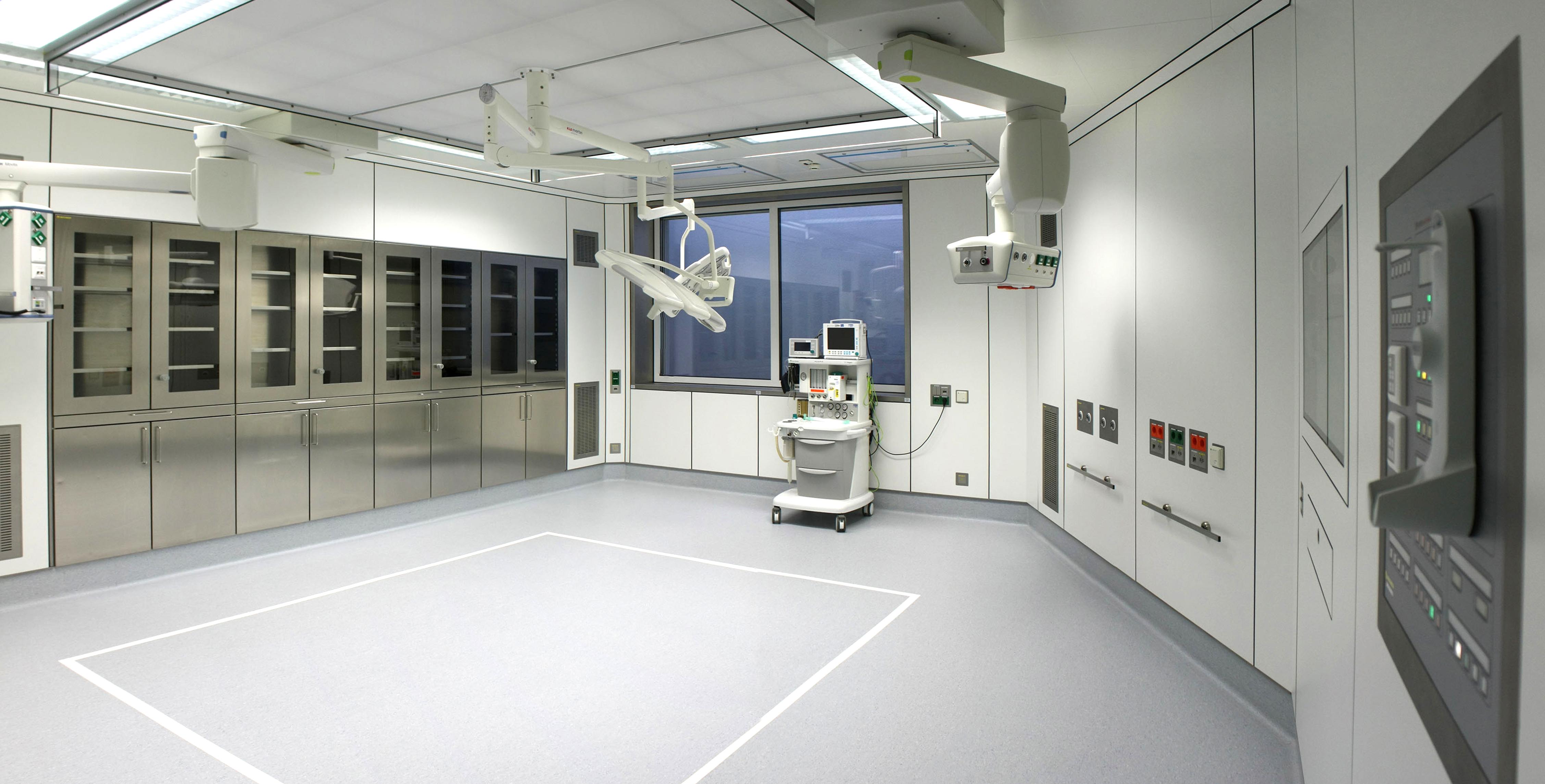 OPs und medizinische Eingriffsräume von SMART ROOM Medical Spaces
