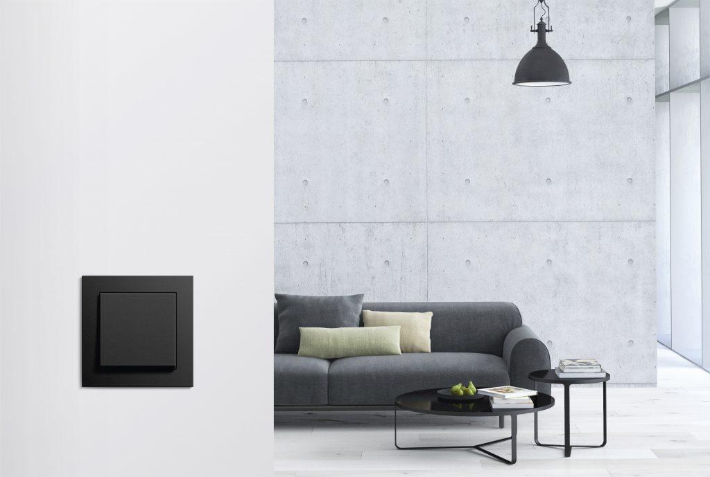 Gira E2 - Gebäudetechnik von Gira fürs Smart Home bei der Design District 2019 in Wien